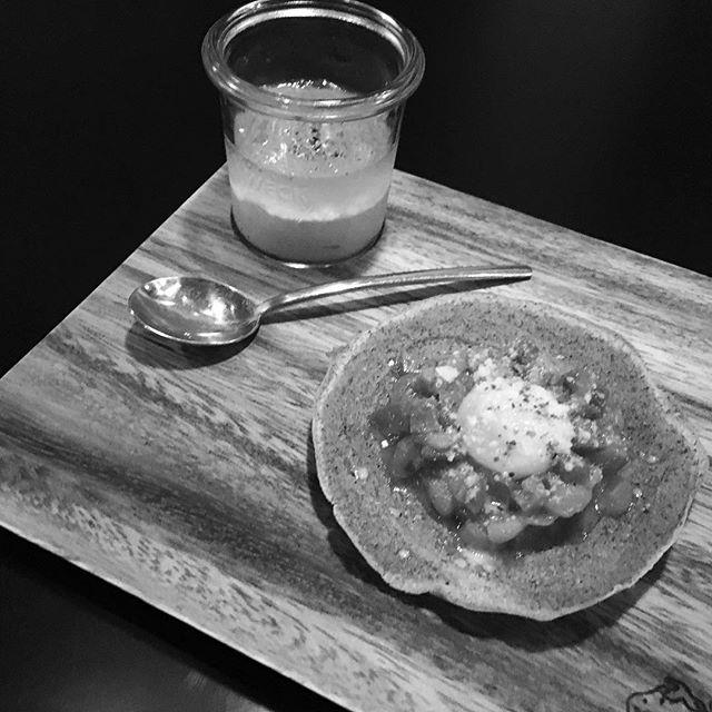 Poivron .mousse et galette #ebisu#恵比寿 #french #restaurant #weck