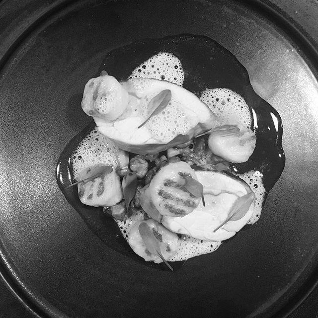 Poulet rôti aux girolles #ici #李英才 #ebisu #恵比寿 #french #restaurant