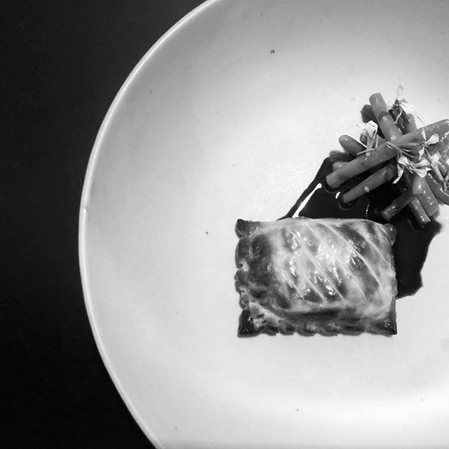 Conger and foie gras pie #ici #ebisu #hiroo #pie#フレンチ #恵比寿